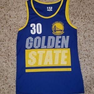 Golden State Warriors Curry 30 basketball jersey M